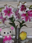 ユリの花でち